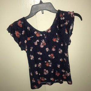 Other - Girls size 7/8 Cold Shoulder Blouse